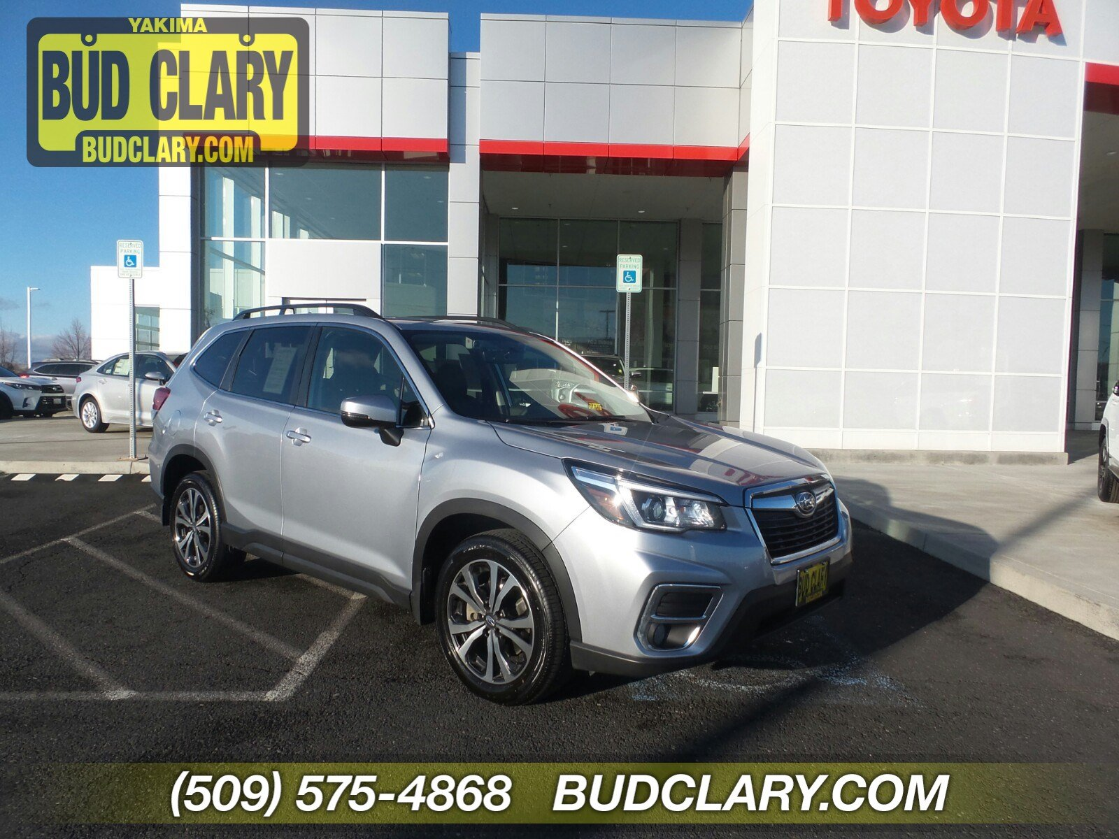 Featured Used 2019 Subaru Forester Limited SUV JF2SKAUC9KH560960 for Sale near Kelso, WA