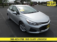 Bargain Used 2019 Chevrolet Cruze LS Hatchback 3G1BC6SM3KS525626 for Sale in Longview WA