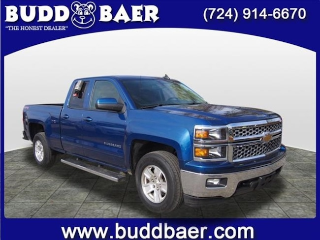 Certified pre-owned 2015 Chevrolet Silverado 1500 LT Truck Double Cab in Pittsburgh