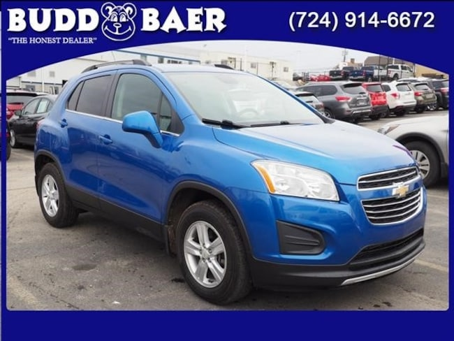 Certified pre-owned 2016 Chevrolet Trax LT SUV in Pittsburgh