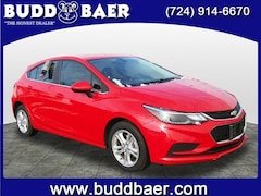 Certified used 2018 Chevrolet Cruze LT Auto Hatchback 3G1BE6SM6JS628175 2707A for sale in Washington PA