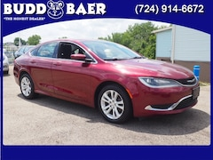 Used Cars  2015 Chrysler 200 Limited Sedan 1C3CCCAB3FN534616 204688A For Sale in Washington PA