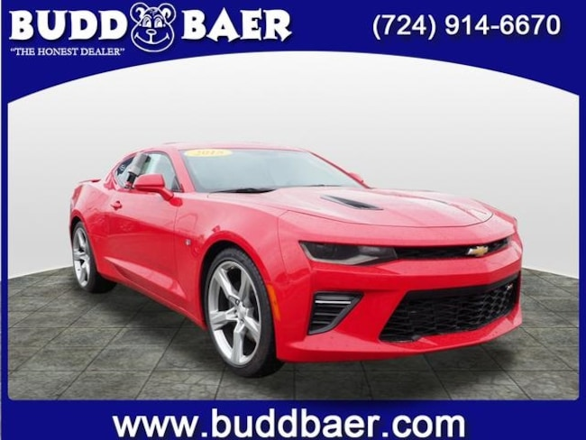 Certified pre-owned 2018 Chevrolet Camaro 1SS Coupe in Pittsburgh