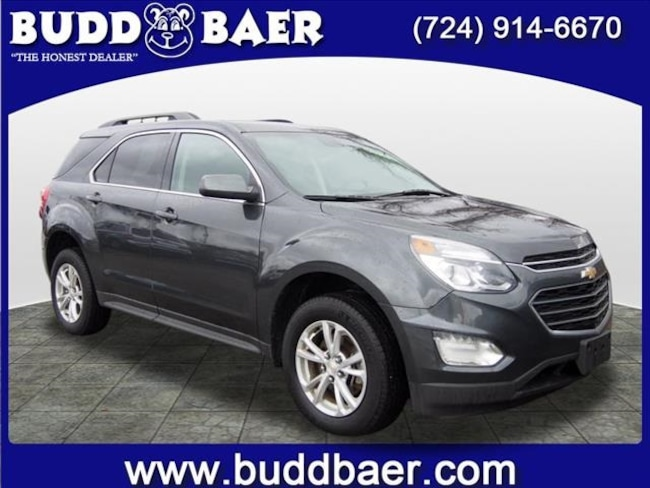 Certified pre-owned 2017 Chevrolet Equinox LT SUV in Pittsburgh
