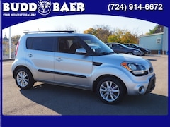 Used  2013 Kia Soul + Hatchback KNDJT2A64D7526543 3303B For Sale in Pittsburgh