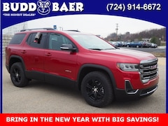 New 2021 GMC Acadia AT4 SUV 1GKKNLLS4MZ124173 213029 for sale in Washington PA