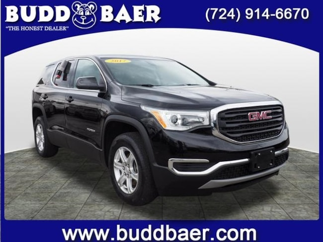 Certified pre-owned 2017 GMC Acadia SLE-1 SUV in Pittsburgh