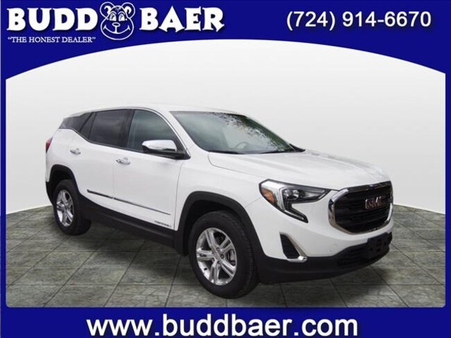Certified pre-owned 2018 GMC Terrain SLE SUV in Pittsburgh
