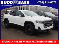 New 2021 GMC Acadia AT4 SUV 1GKKNLLS2MZ121434 213021 for sale in Washington PA