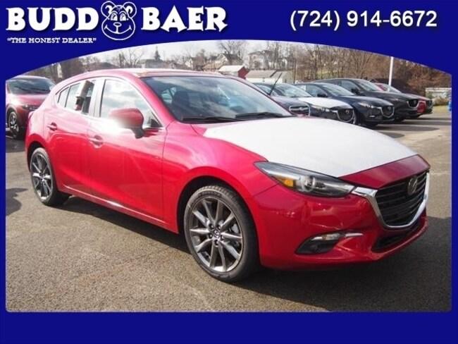 New 2018 Mazda Mazda3 Grand Touring Base Hatchback 3MZBN1M34JM262071 18-5-355 in Pittsburgh