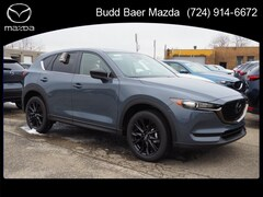 New 2021 Mazda Mazda CX-5 Carbon Edition SUV JM3KFBCM7M0323931 215063 for sale in Washington PA