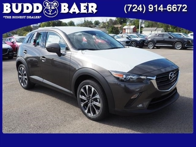 New 2019 Mazda Mazda CX-3 Touring SUV JM1DKFC79K0419393 19-5-014 in Pittsburgh