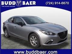 Bargain used 2014 Mazda Mazda3 i SV Sedan for sale in Washington PA