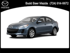 Bargain used 2013 Mazda Mazda3 i SV Sedan for sale in Washington PA