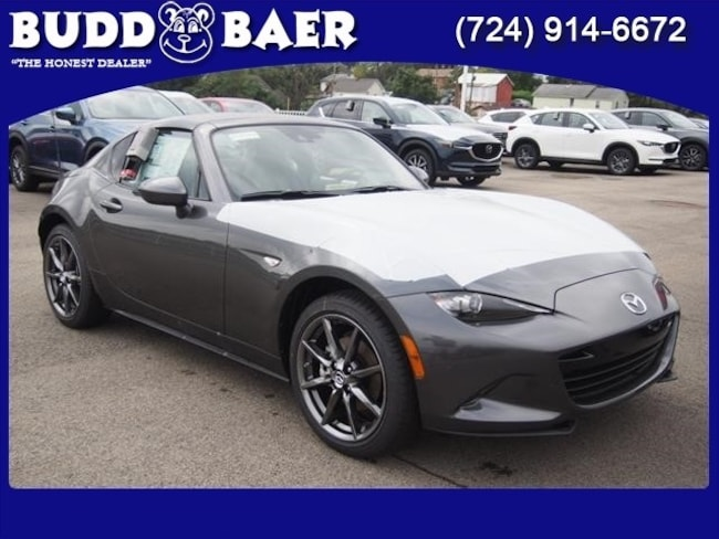New 2019 Mazda Mazda MX-5 Miata RF Grand Touring Coupe JM1NDAM77K0301780 19-5-016 in Pittsburgh