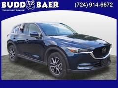Certified pre-owned 2018 Mazda Mazda CX-5 Grand Touring SUV JM3KFBDM7J0323227 2614A For Sale in Pittsburgh