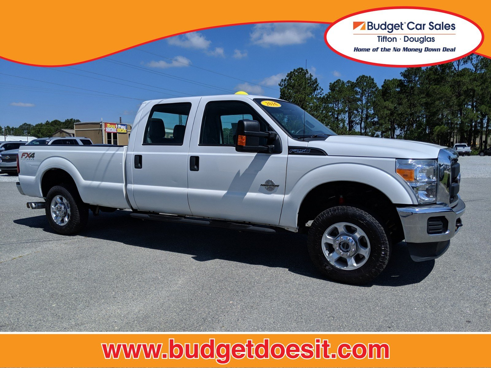 2016 Ford Super Duty F-250 SRW XL Truck Crew Cab