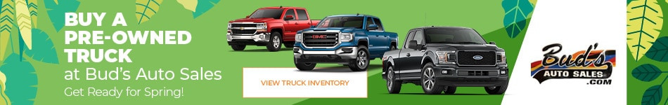 Buy a Pre-Owned Truck at Bud's Auto Sales