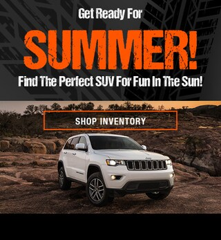 Pre-Owned SUV's for Summer!