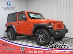 new 2020 Jeep Wrangler SPORT S 4X4 Sport Utility for sale in Greenville OH