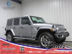 new 2019 Jeep Wrangler UNLIMITED SAHARA 4X4 Sport Utility for sale in Greenville OH
