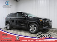 new 2021 Jeep Cherokee LATITUDE LUX 4X4 Sport Utility for sale in Greenville OH