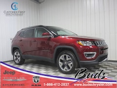 new 2020 Jeep Compass LIMITED 4X4 Sport Utility for sale in Greenville OH