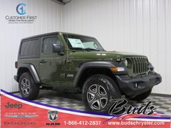 new 2021 Jeep Wrangler SPORT S 4X4 Sport Utility for sale in Greenville OH