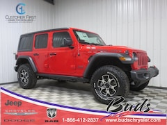 new 2020 Jeep Wrangler UNLIMITED RUBICON 4X4 Sport Utility for sale in Greenville OH