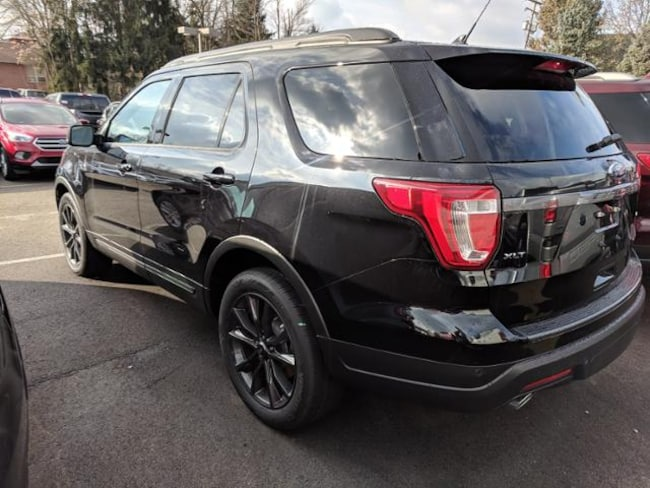 83dcf39b86 New 2019 Ford Explorer XLT 4WD Sport Utility in Agate Black For Sale ...