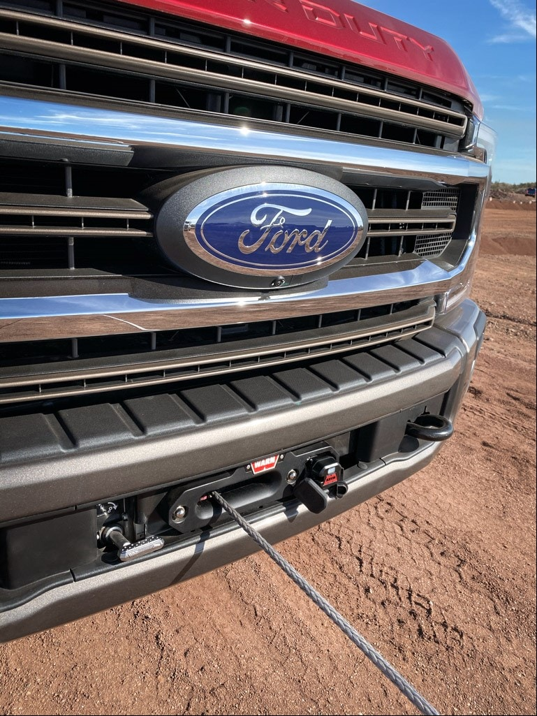 Ford winch cable