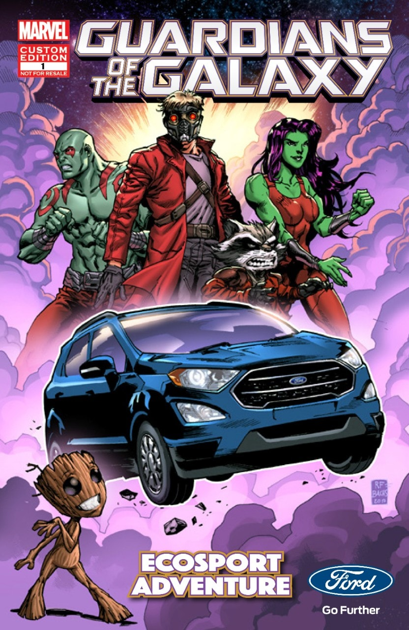"Ford EcoSport - Official Vehicle of ""Guardians of the Galaxy Vol 2"""