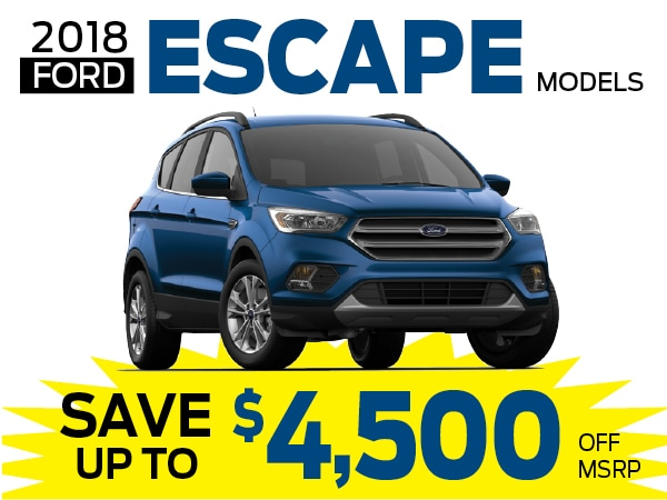 Ford Escape Lease >> New Ford Escape Lease Or Finance Specials In Greensburg Pa Near