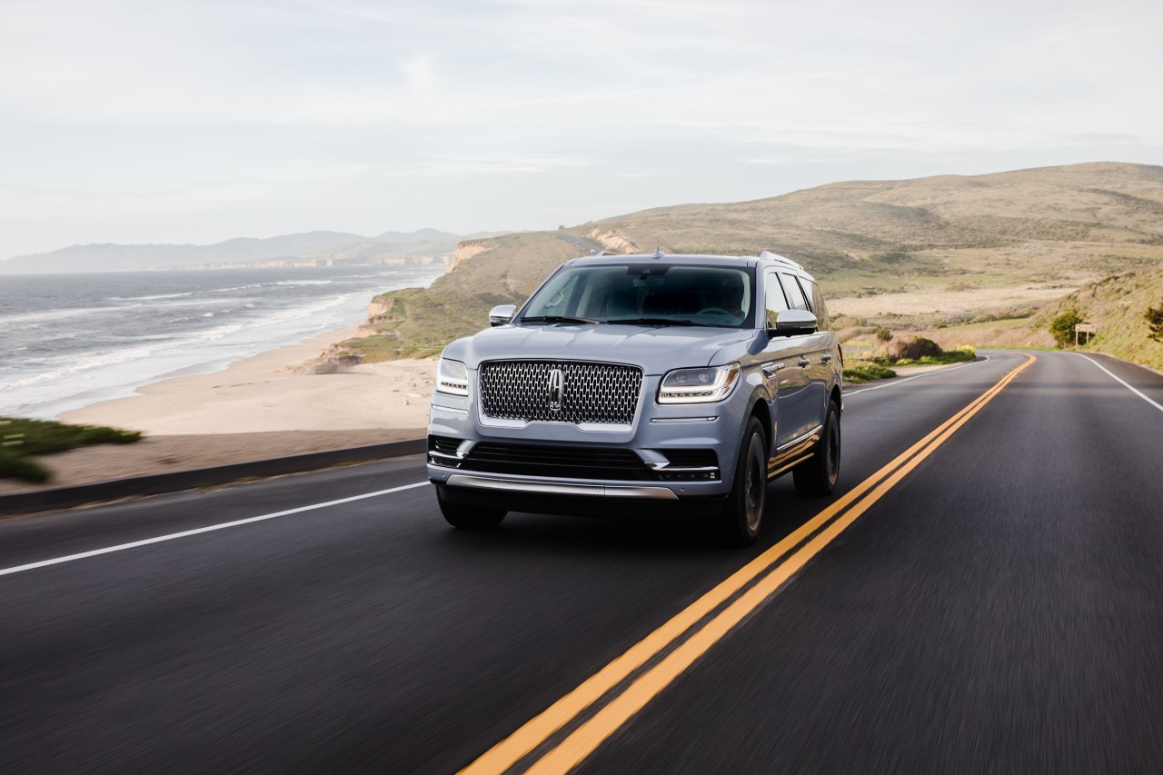 2018 Lincoln Navigator Tops JD Power APEAL Study