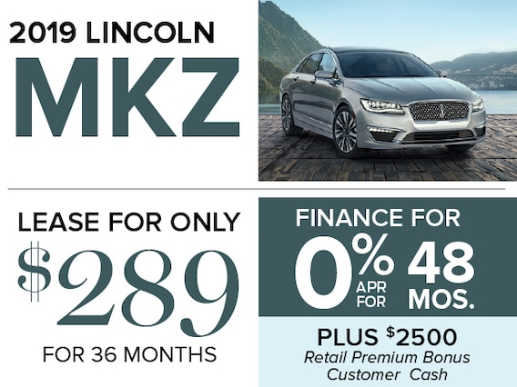 Lincoln Mkz Lease >> 2019 Lincoln Mkz Lease And Finance Offers At Smail Lincoln In