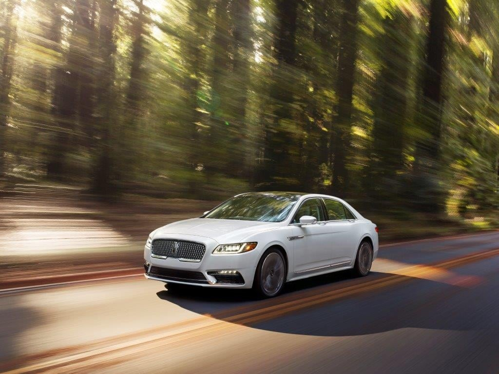 2018 Lincoln Continental Earns Iihs Top Safety Pick Plus Rating