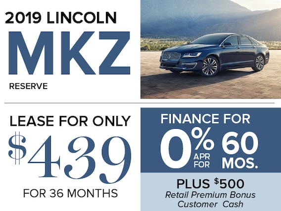 Lincoln Mkz Lease >> 0 Apr For 60 Months On The 2019 Lincoln Mkz