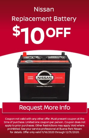 Nissan Replacement Battery