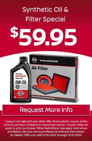 Synthetic Oil & Filter Special