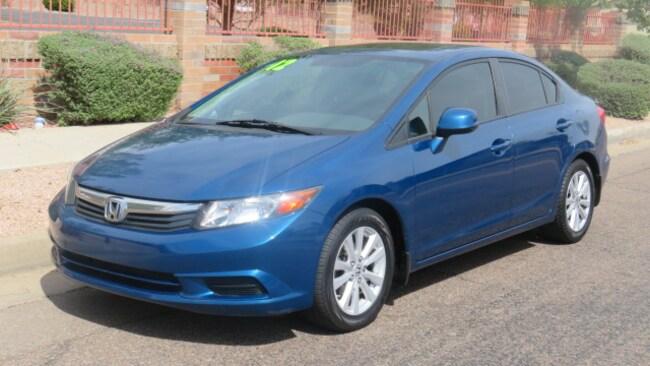 Used 2012 Honda Civic EX Sedan For Sale Phoenix AZ