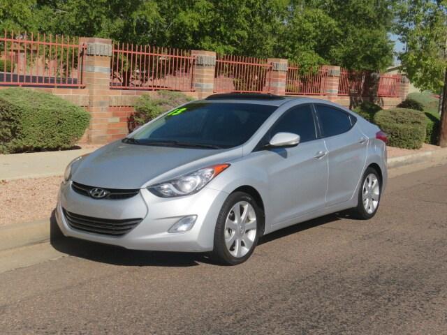 Used 2013 Hyundai Elantra Limited Sedan For Sale Phoenix AZ