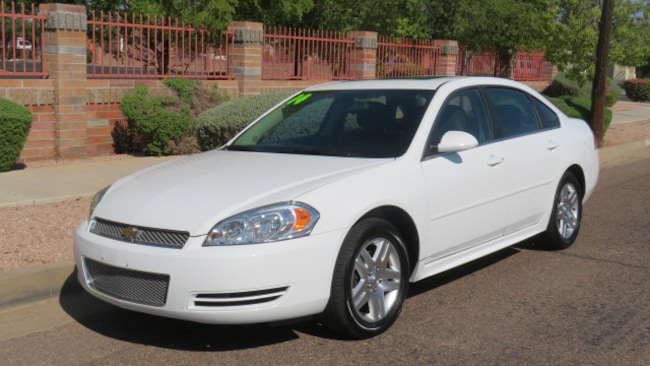 Used 2014 Chevrolet Impala Limited LT Sedan For Sale Phoenix AZ