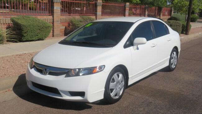 Used 2011 Honda Civic LX Sedan For Sale Phoenix AZ