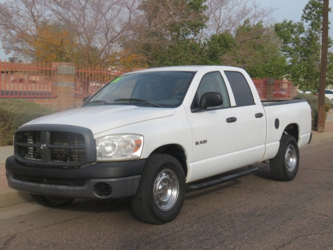Used 2008 Dodge Ram 1500 ST/SXT Truck Quad Cab For Sale Phoenix AZ