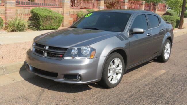 Used 2013 Dodge Avenger R/T Sedan For Sale Phoenix AZ