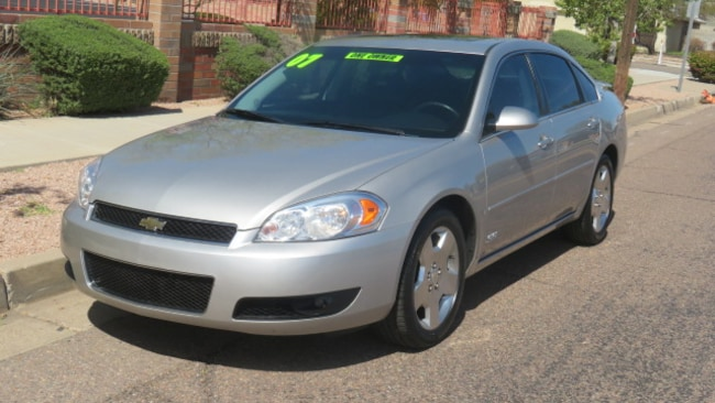 Used 2007 Chevrolet Impala SS Sedan For Sale Phoenix AZ