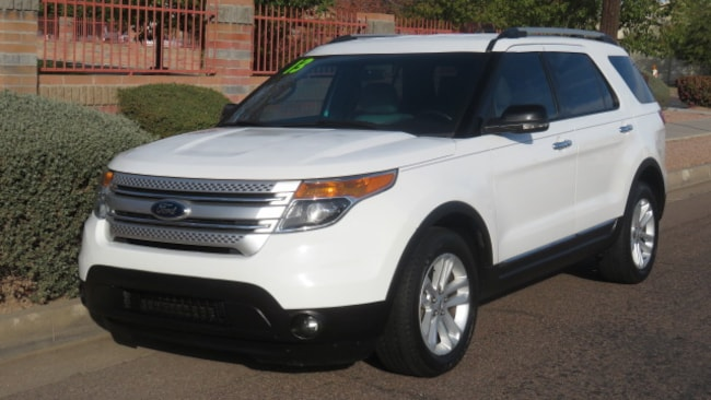 Used 2013 Ford Explorer XLT SUV For Sale Phoenix AZ