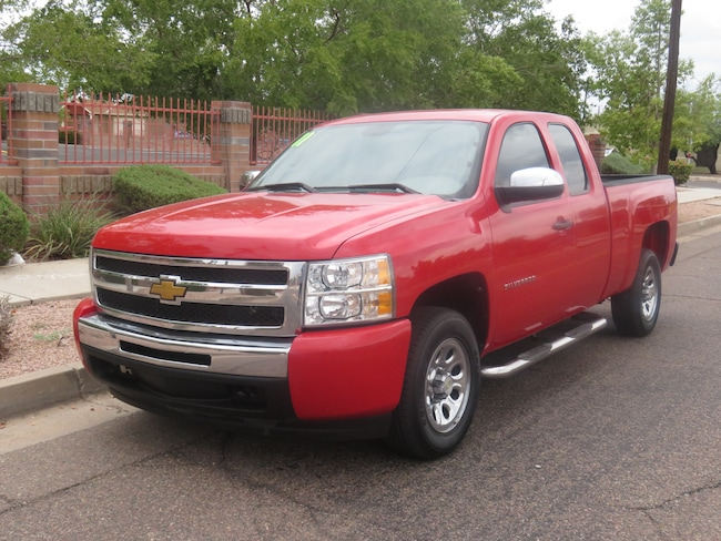 Used 2011 Chevrolet Silverado 1500 Work Truck Truck Extended Cab For Sale Phoenix AZ
