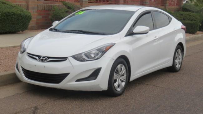 Used 2016 Hyundai Elantra SE Sedan For Sale Phoenix AZ
