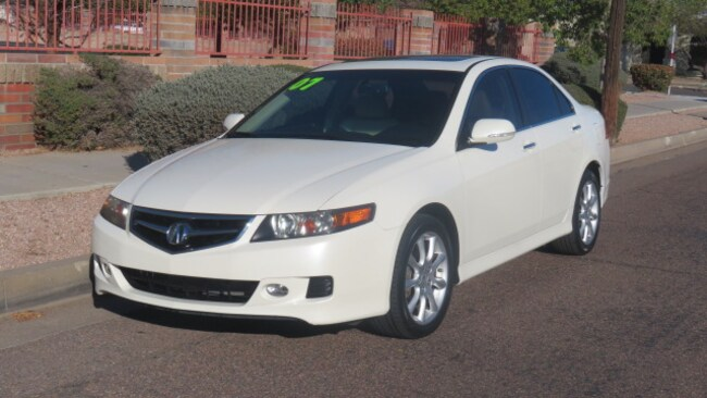 Used 2007 Acura TSX Base w/Navigation Sedan For Sale Phoenix AZ